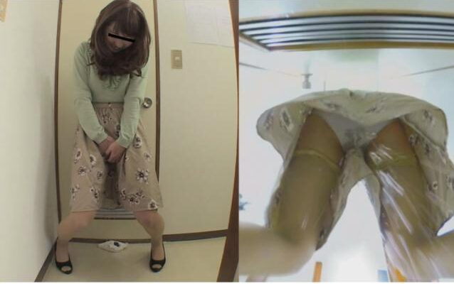 スカート前押さえお漏らし2 シチュエーション イン